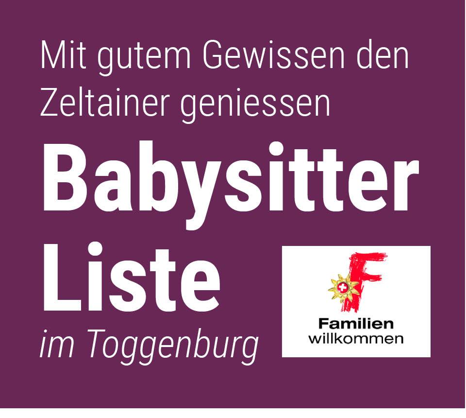 Babysitter-Liste